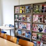 ファッションやデザイン関連、起業に関する雑誌や書籍を閲覧することができます。デザインのアイデアソースとして活用下さい。
